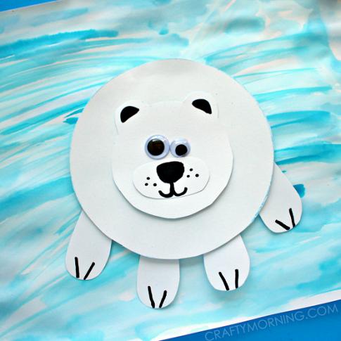 paper-polar-bear-winter-kids-craft