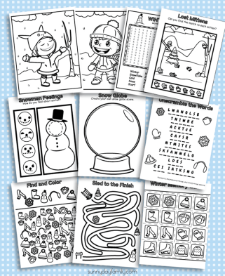winter-coloring-pages-collage